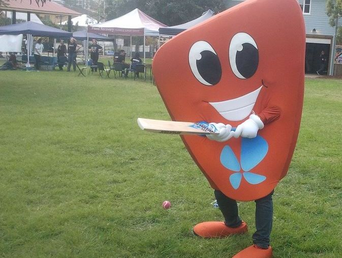Oliver the healthy liver, mascot for hepatitis awareness