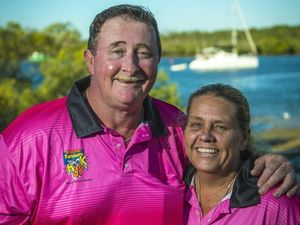 Couple still hooked on festival after 19 years as volunteers