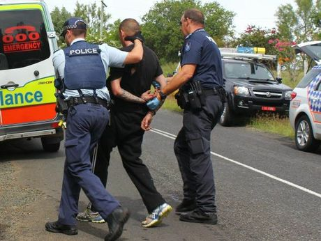 Police arrest a 32-year-old man after a police chase through the Lockyer Valley.