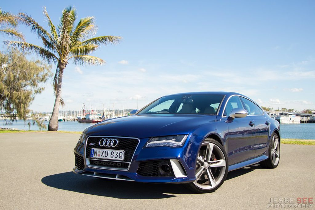 The Audi RS7.