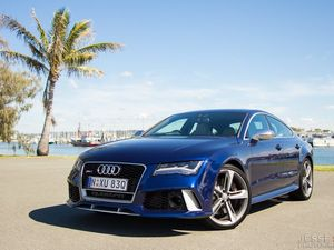 Beautiful Audi RS7 lines hide a beast within
