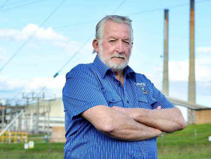 TAKING A STAND: Ted Bradley is unhappy about asset sales and is calling on the LNP to hold a referendum over the issue.