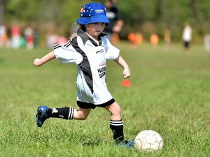 Gladstone's youngest players ready for more football action