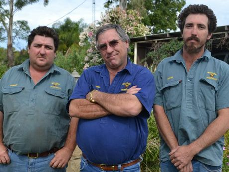 Gavin, Rowell and Robert Walton are facing hard times following ANZ's decision to put the property into receivership.