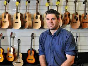 Local musician Nathan Bedford is passionate about generating a local music scene in Gladstone.