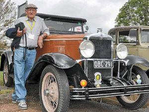 John bitten by the vintage car bug as a teen