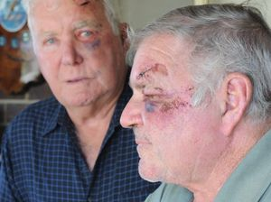 Bashing of two elderly men, one a cancer patient