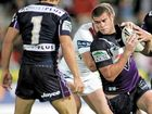 FULL CIRCLE: Matt King during his time with the Melbourne Storm in the NRL. The former Australian representative will return to Queen Elizabeth Park on Sunday to pull on a Casino jumper again.