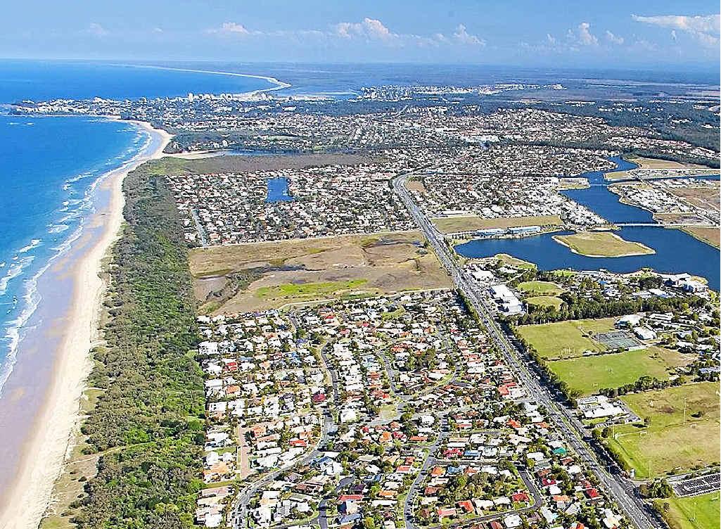 Stockland development at Bokarina Beach is back on