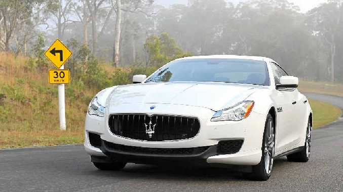 The new Maserati Quattroporte powered by a V6.