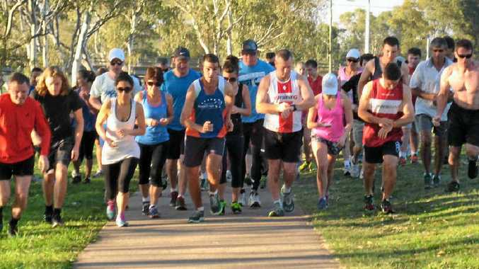 EARLY RISERS: The parkrun takes place from 7am each Saturday at Federation Park.