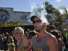 There was a large turnout of spectators and participants for the 2014 Nimbin Mardi Grass which aims to raise awareness about prohibition and marijuana. Photo Marc Stapelberg / The Northern Star