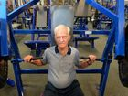 Former GP bench pressing his way through retirement at gym