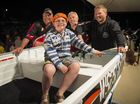 Junior boat winner Ryan Loakes at the Boyne Tannum HookUp, Boyne Island.