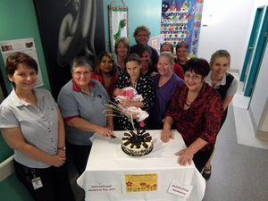 Happy Hervey Bay Hospital unit celebrates special day