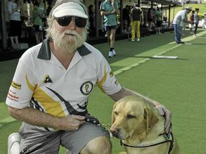 Bowls club supports its number one member dog Queeny