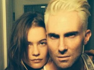 Adam Levine dyes hair platinum blonde