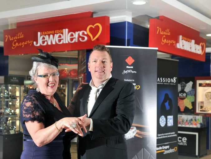 SPARKLE: Karen and Mark Gregory are platinum sponsors of the Gladstone Variety Gala Ball.
