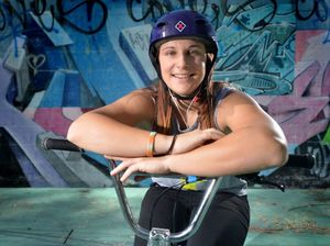 UP AND COMING: BMX freestyle rider Natalya Diehm has just returned from a successful run at the Queensland titles on the Gold Coast.