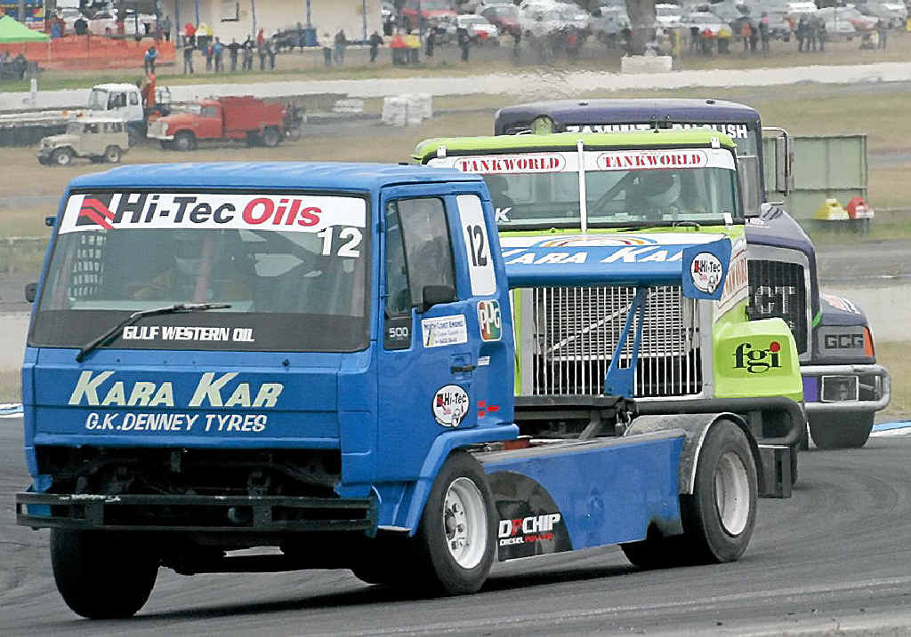 STRONG COMPETITION: Truck racing is back this year, the first round will be at Wakefield on May 17-18.