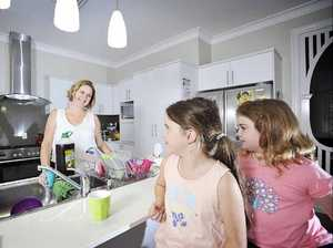 Love is a battlefield when hubbie slacks off on housework