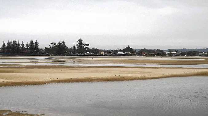 COMMERCIAL INTEREST: Ballina Shire Council wants to dredge North Creek at Ballina and use the sand for fill at the Southern Cross industrial estate.
