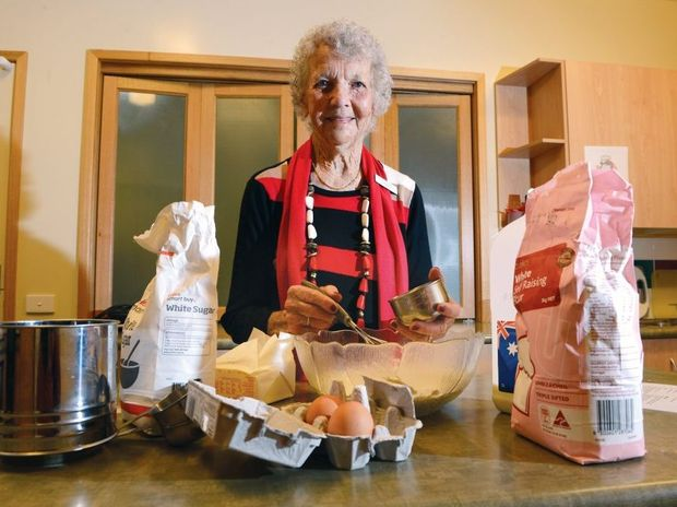 Lorna Allen of Goonellabah has been volunteering for more than seventy years.