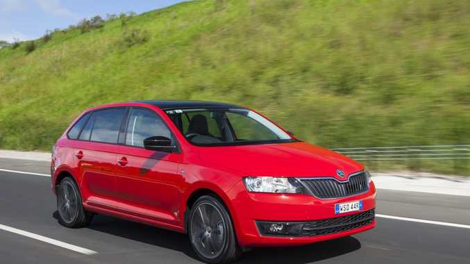The Skoda Rapid Spaceback.