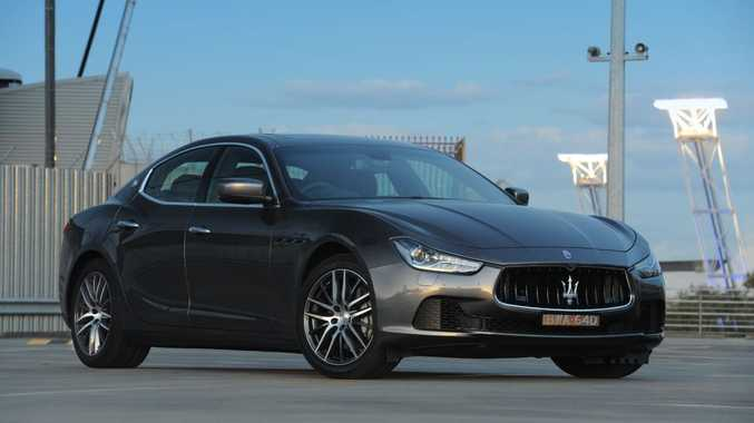 The new Maserati Ghibli.