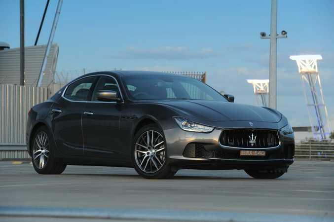 The new Maserati Ghibli.