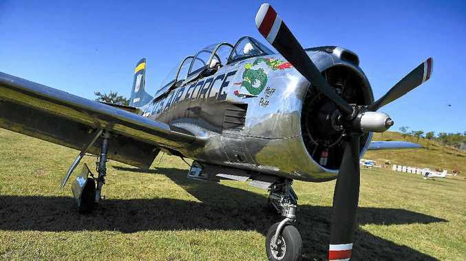 AIR SPECTACULAR: Don't miss The Old Station fly-in and heritage show at Raglan later this month.
