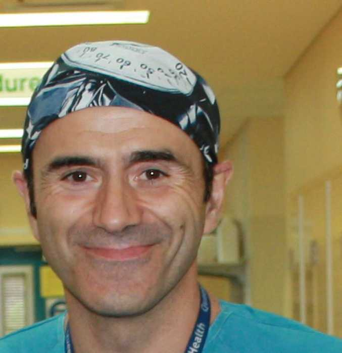 Dr Antonio Vega Vega was stood down last week.
