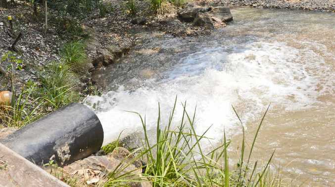 FLOW-ON EFFECT: 20ML a day will be pumped down Goolang Creek to create environmental flow for the system.