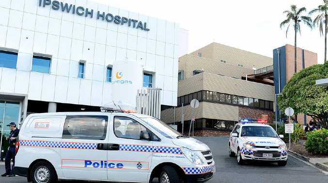 SMOKE DETECTED: Ipswich Hospital patients and staff were evacuated after a small electrical fire.
