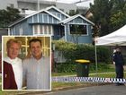 Celebrity chef Gordon Ramsay with Peter Milos and the scene of his death at Morningside. Main photo: Kristian Silva