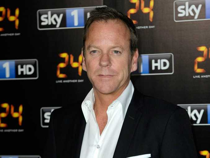 Kiefer Sutherland at 24: Live Another Day screening.