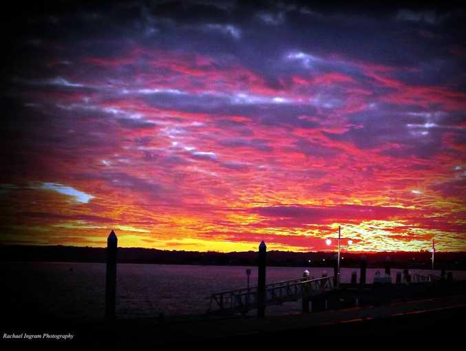 We had a spectacular sunset on May 7 and plenty of Northern Rivers residents were ready to document it.