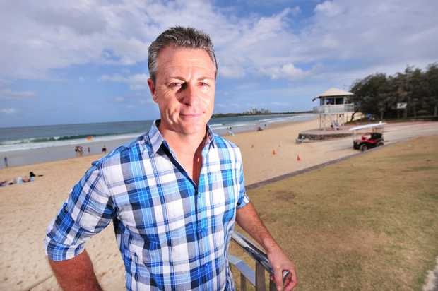 Carl Judge, Member for Yerongpilly, has been making comment on the police cuts while visiting Mooloolaba. Photo: Iain Curry / Sunshine Coast Daily