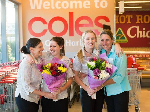 Coles supermarket.