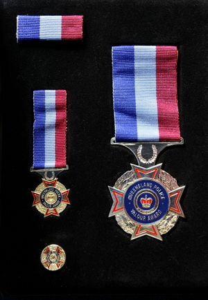 The Medal of Valour.