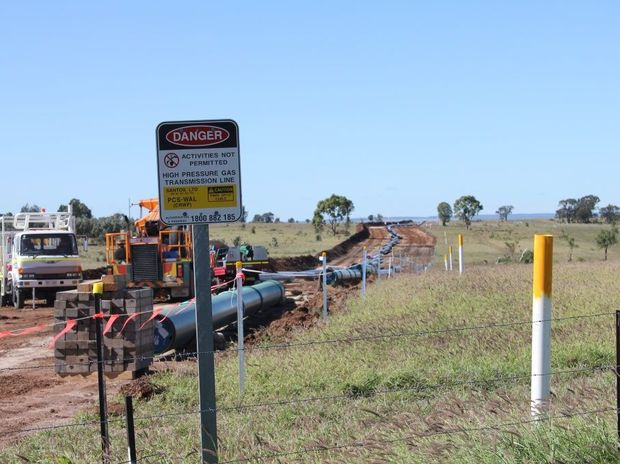GOOD AND BAD: Gas fields near Roma and Dalby bring more people and jobs to the town, to the detriment of local roads and rental prices. Hamish Broome