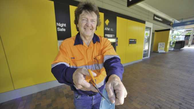 Gladstone Conservation Council's Jan Arens wants banks to take his money out of WICET.
