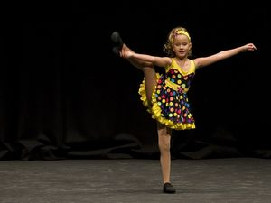 Solo dance at Eisteddfod