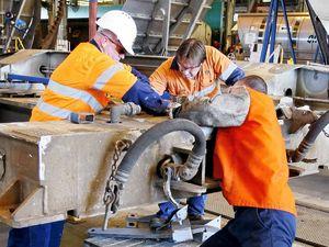 End of the line for Redbank railway workshops