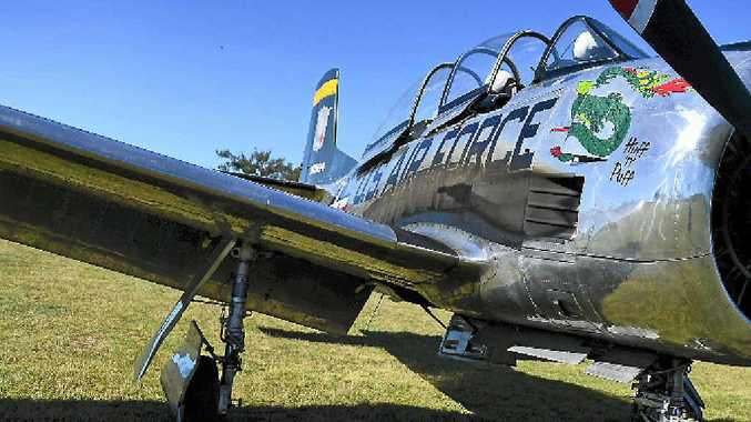 IMPRESSIVE DISPLAY: About 250 aircraft of all vintages will create a massive air show during the annual Old Station Fly In and Heritage Show.