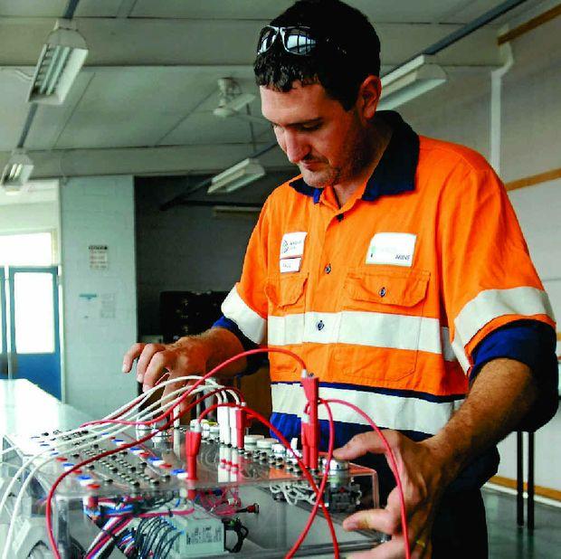 SAD LOSS: Electrician Paul McGuire.