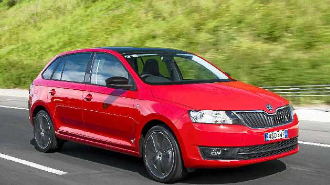 SOLID ALL-ROUNDER: The new Skoda Rapid Spaceback.