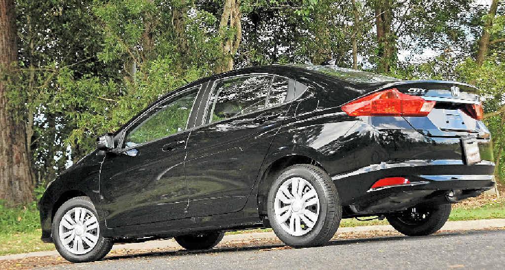 The new Honda City sedan.