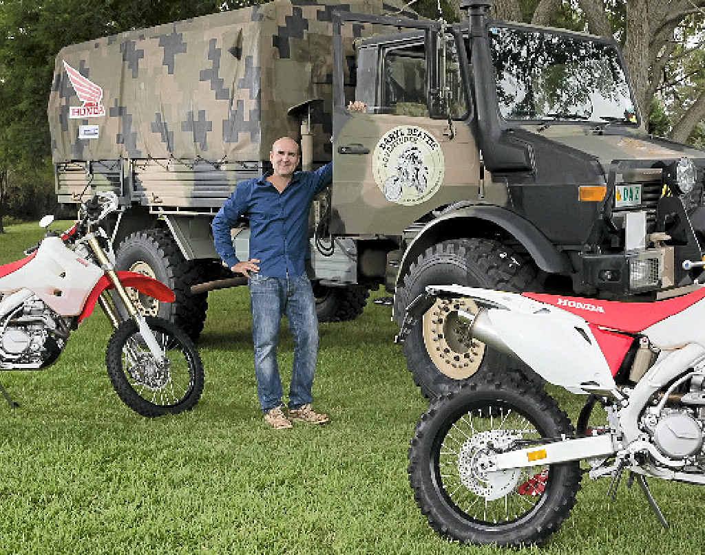 Former MotoGP rider Daryl Beattie.