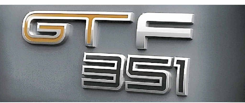 The final FPV edition badging.